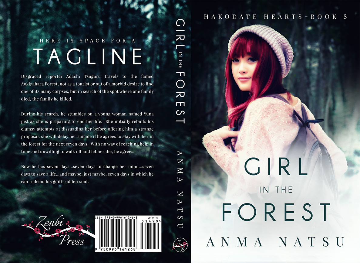 Girl in the Forest - Paperback Cover